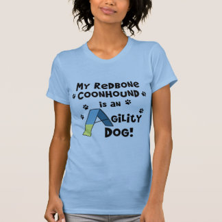 RedboneのCoonhoundの敏捷犬 Tシャツ