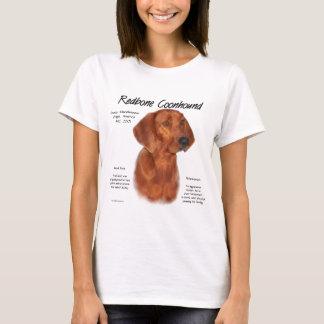 RedboneのCoonhoundの歴史のデザイン Tシャツ