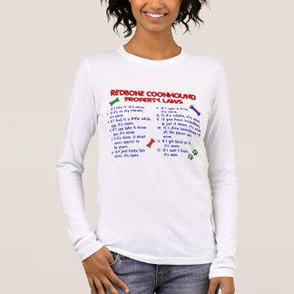 REDBONEのCOONHOUNDの特性の法律2 Tシャツ