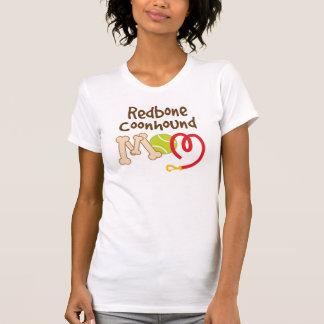 RedboneのCoonhound犬の品種お母さんのギフト Tシャツ