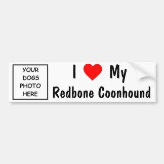 RedboneのCoonhound バンパーステッカー