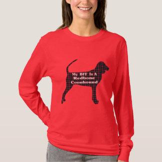 RedboneのCoonhound BFFのギフト Tシャツ