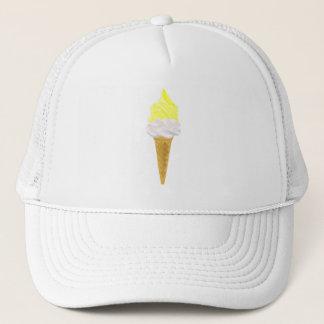 REDCARのTシャツレモン上のアイスクリームは自分自身でおおいます キャップ