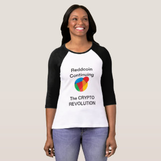 Reddcoinの女性のジャージー Tシャツ