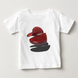 RedGlassBrokenHeart092715.png ベビーTシャツ