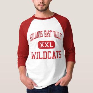 Redlandsの東の谷-山猫-高Redlands Tシャツ