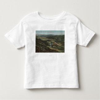 Redlands、カリフォルニア-スマイリーからのサンTimeteo渓谷 トドラーTシャツ