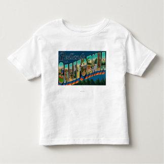 Redlands、カリフォルニア-大きい手紙場面 トドラーTシャツ