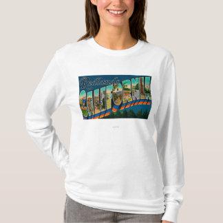 Redlands、カリフォルニア-大きい手紙場面 Tシャツ