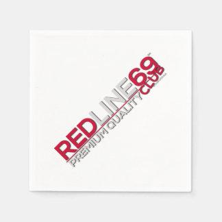 redline69clubのカクテルのナプキン スタンダードカクテルナプキン