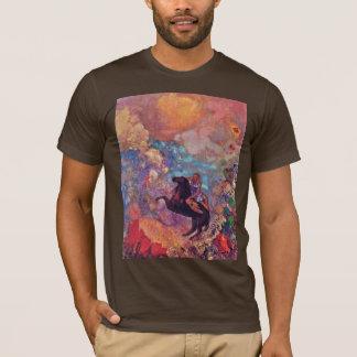 Redon Odilon (最も最高のな質)著ペガソスのムーサ Tシャツ