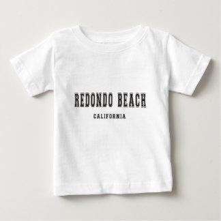 Redondo Beachカリフォルニア ベビーTシャツ