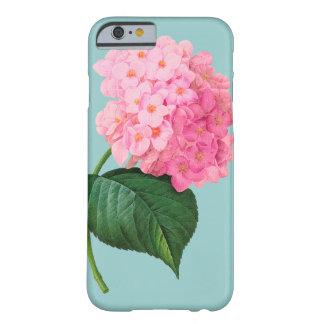 RedouteのぼろぼろのピンクのアジサイのiPhone6ケース Barely There iPhone 6 ケース