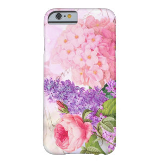 Redouteのピンクの花のアジサイのiPhone6ケース Barely There iPhone 6 ケース