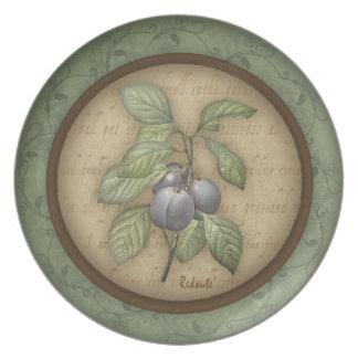 Redouteのフルーツのプレート プレート
