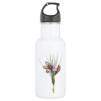 Redouté著サフランクロッカス(sativusクロッカス) ウォーターボトル