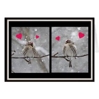 Redpollsのバレンタイン カード