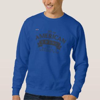 REDSTARLINE -スエットシャツの深い王室の-アメリカの灰色 スウェットシャツ
