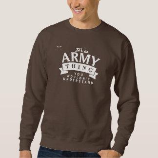 REDSTARLINE -スエットシャツチョコレート-軍隊ベージュ色 スウェットシャツ