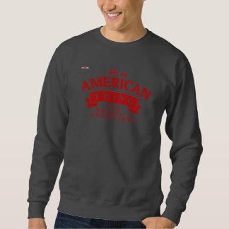 REDSTARLINE -ダークグレースエットシャツ-アメリカの赤 スウェットシャツ