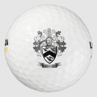 Reeceの家紋の紋章付き外衣 ゴルフボール