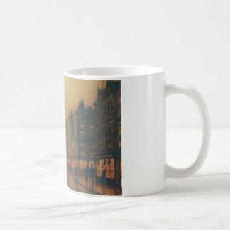 Reekie、ジョンAtkinson Grimshaw著グラスゴー コーヒーマグカップ