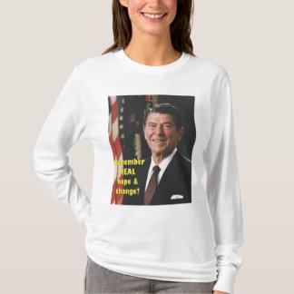 Reganの希望および変更 Tシャツ