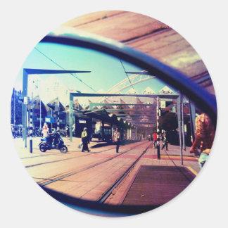Regarderのvotreのmiroirは、あなたの鏡を見ます ラウンドシール