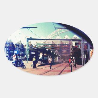 Regarderのvotreのmiroirは、あなたの鏡を見ます 楕円形シール
