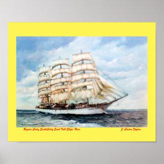 Regata Cutty Sark/Cutty Sark Tall Ships' Race ポスター