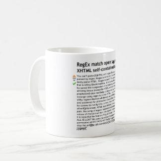 Regex -トニーが付いているHTMLを子馬分析して下さい コーヒーマグカップ