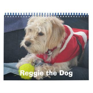 Reggie犬の2009年のクリスマスのカレンダー カレンダー