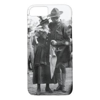 Regiment_Warの第71イメージの兵士の男の子 iPhone 8/7ケース