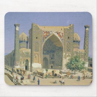 Registanの場所のMedrasah Shir-Dhor マウスパッド