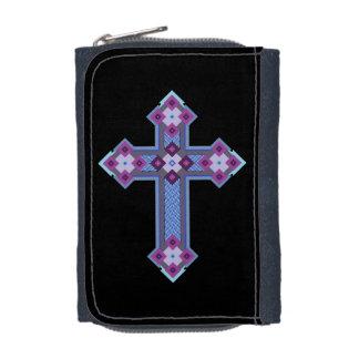 Regium Crucis™のデニムの財布w/Coinの財布