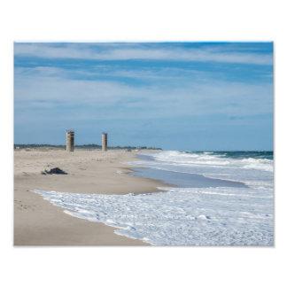 Rehobothのビーチのよい日 フォトプリント