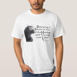 Rehomingオウム- T Tシャツ