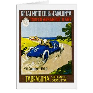 Reial Moto Club de Catalunya グリーティングカード