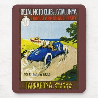 Reial Moto Club de Catalunya マウスパッド