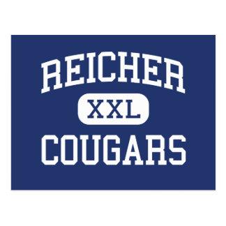 Reicher -クーガー-カトリック教徒- Wacoテキサス州 ポストカード