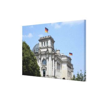 Reichstag、ベルリン、ドイツ2 キャンバスプリント