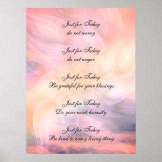 Reiki Principles ポスター