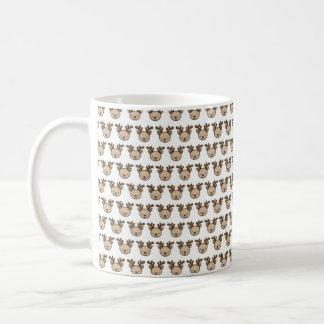 Reindeer Pattern Mug (11 oz) コーヒーマグカップ