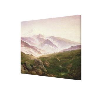 Reisenbergのジャイアンツ1839年の山 キャンバスプリント