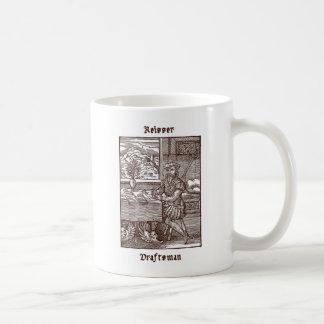 Reisser -製図工 コーヒーマグカップ