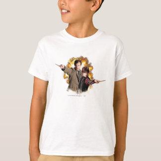 Remusのルピナス属およびNymphadoraのTonksルピナス属 Tシャツ