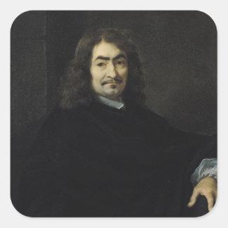 Rene Descartesがあると推定されるポートレート スクエアシール