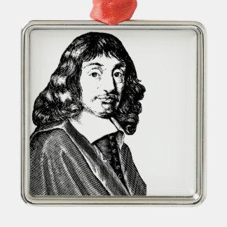 Rene Descartes メタルオーナメント