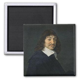 Rene Descartes c.1649のポートレート マグネット