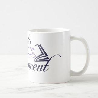 Reneeヴィンチェンツォのロゴのマグ コーヒーマグカップ